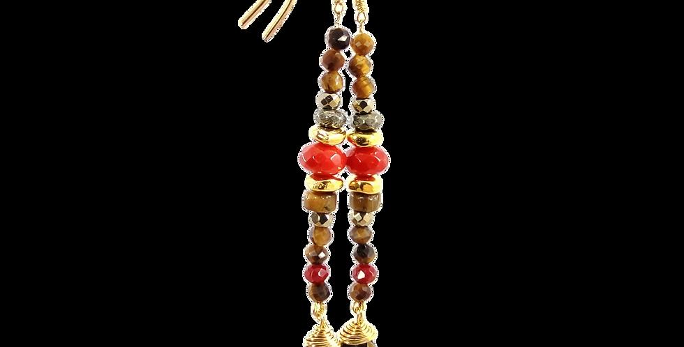 Boucles pendantes Duna