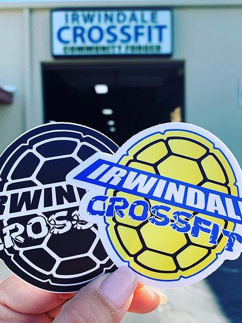 Irwindale Crossfit Sticker