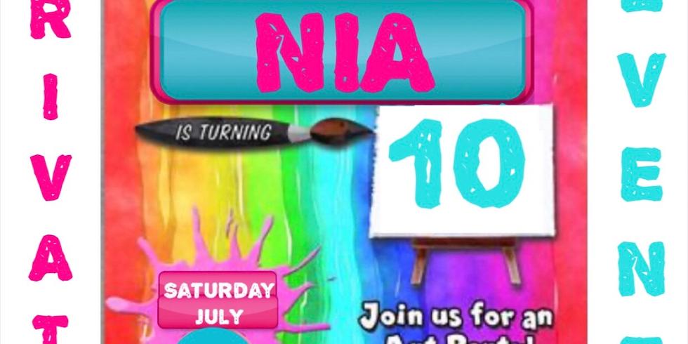 Nia's 10th Birthday Bash!