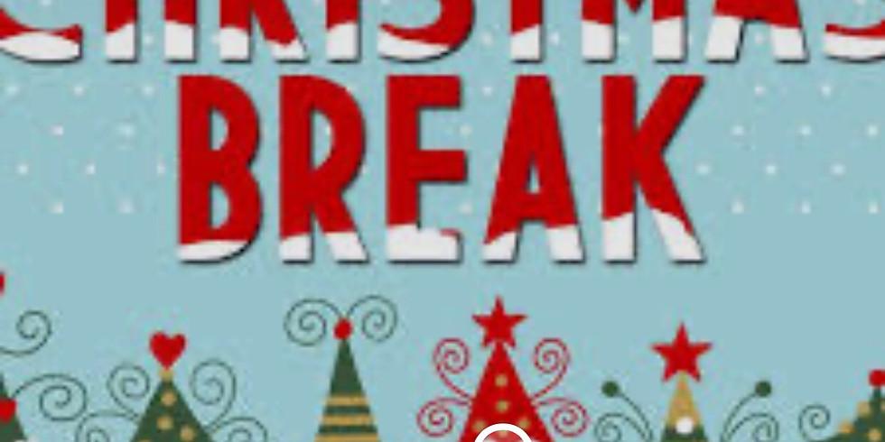 Closed for Christmas Break !
