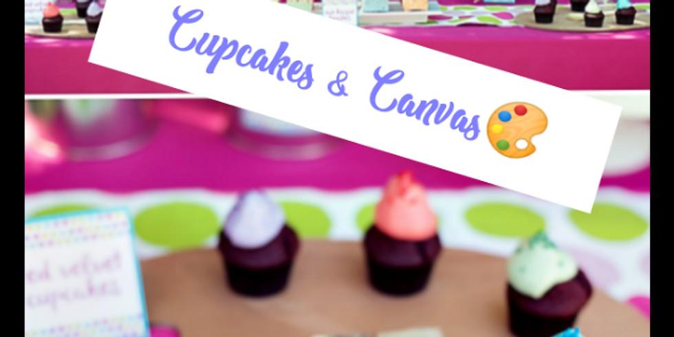 Aniyah's Cupcakes & Canvas Birthday Bash!