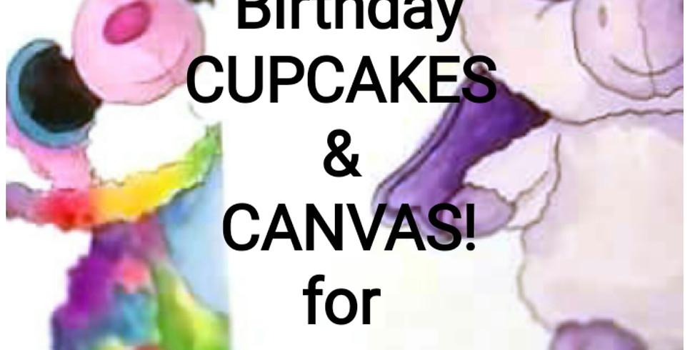 Cupcakes & Canvas Birthday Brunch!! (1)