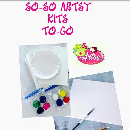 So-So Artsy Kits TO-GO