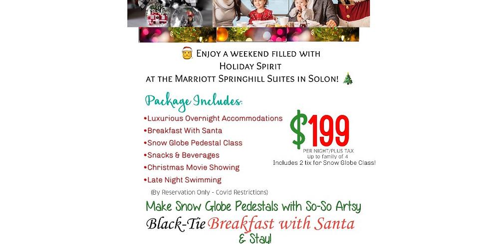 Paint, Sip, & Stay @ Marriott Solon!