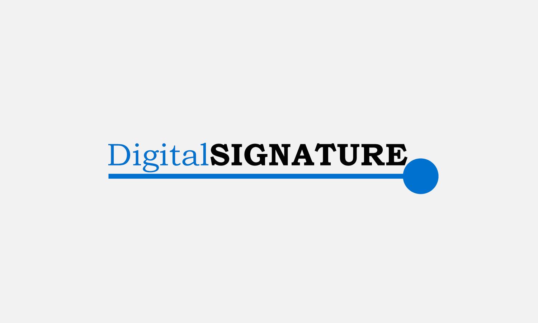 Digital Signature logo