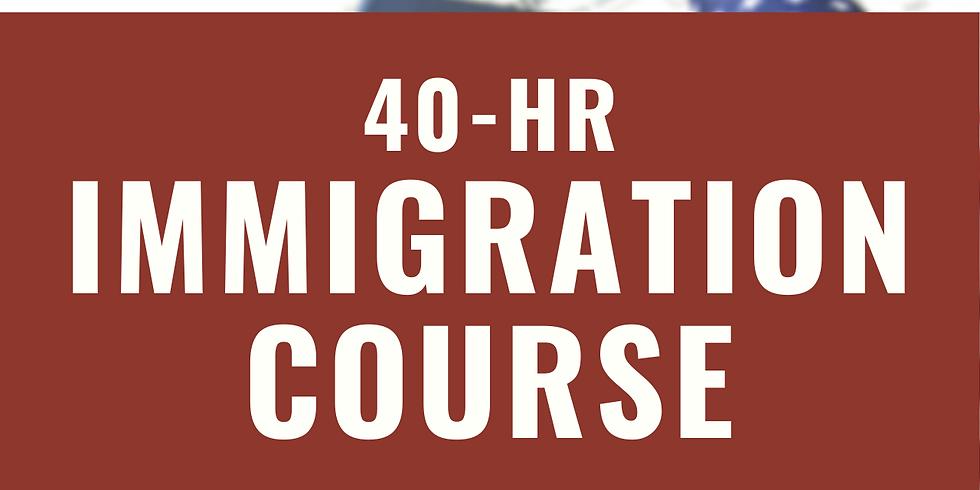 40-hr Immigration Course