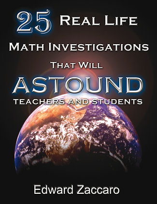 25 Real Life Math Investigations