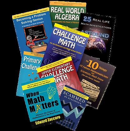 Set of 9 books by Edward Zaccaro