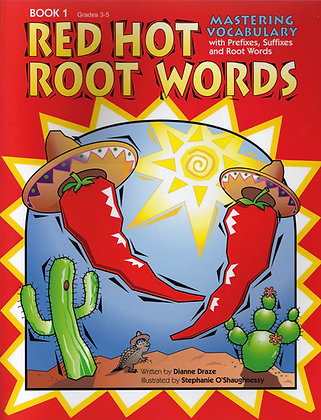 Red Hot Root Words: Book 1