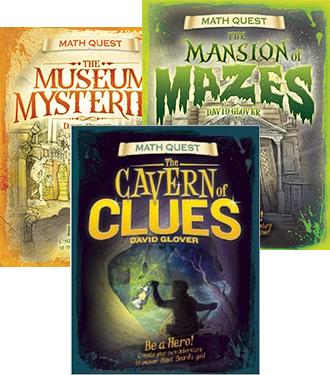 Math Quest Series: Set of THREE