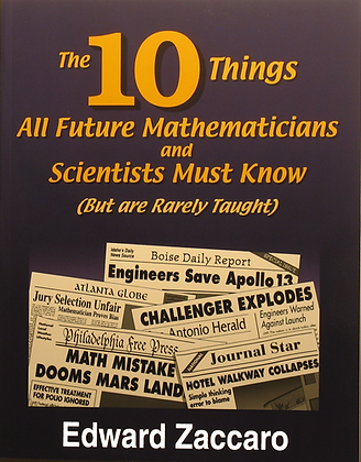 The 10 Things All Future Mathematicians...