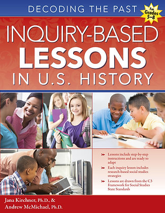 Inquiry-Based Lessons in U.S. History