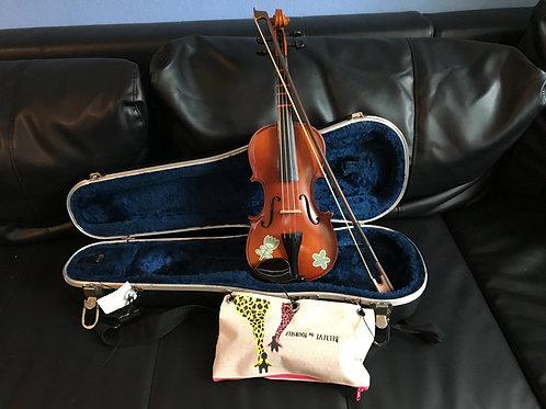 """Cinnamon"" Glaesal 1/4 size violin"