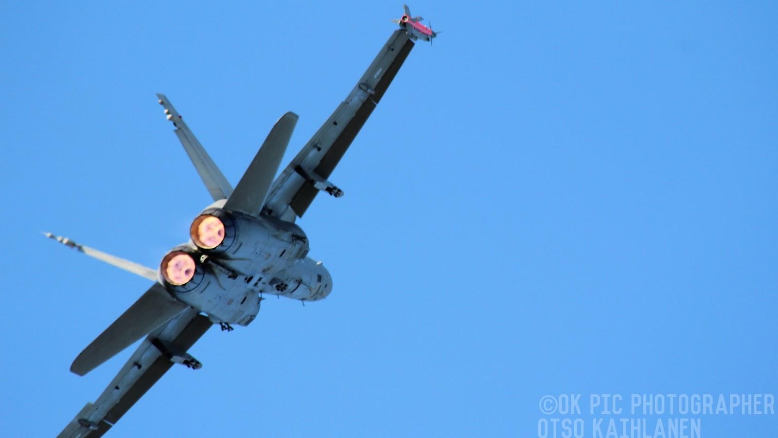 Ilmavoimien F/A - 18 Hornet