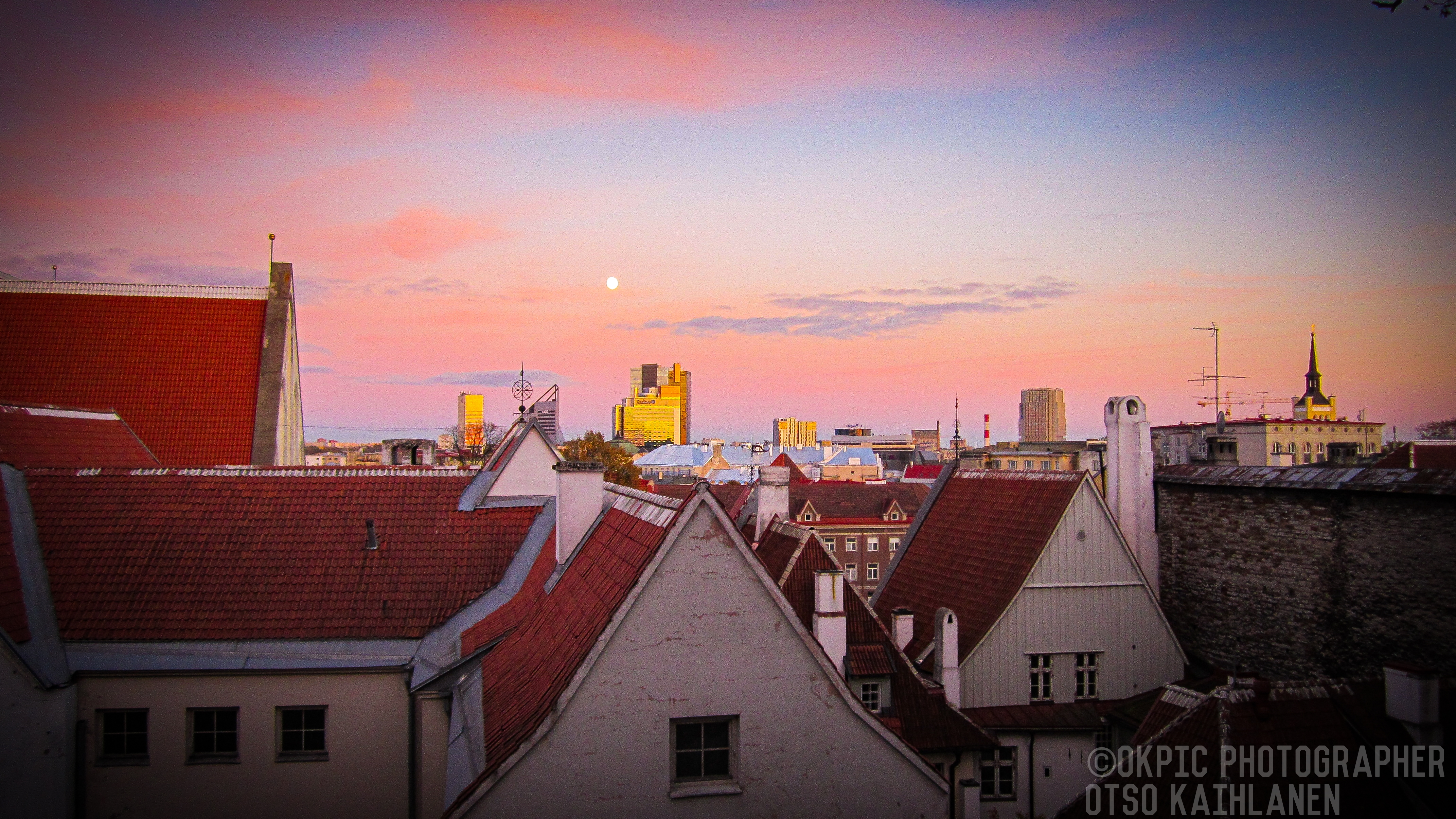 Maisemakuva Tallinnasta