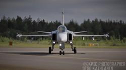 Ruotsin Ilmavoimien JAS Gripen