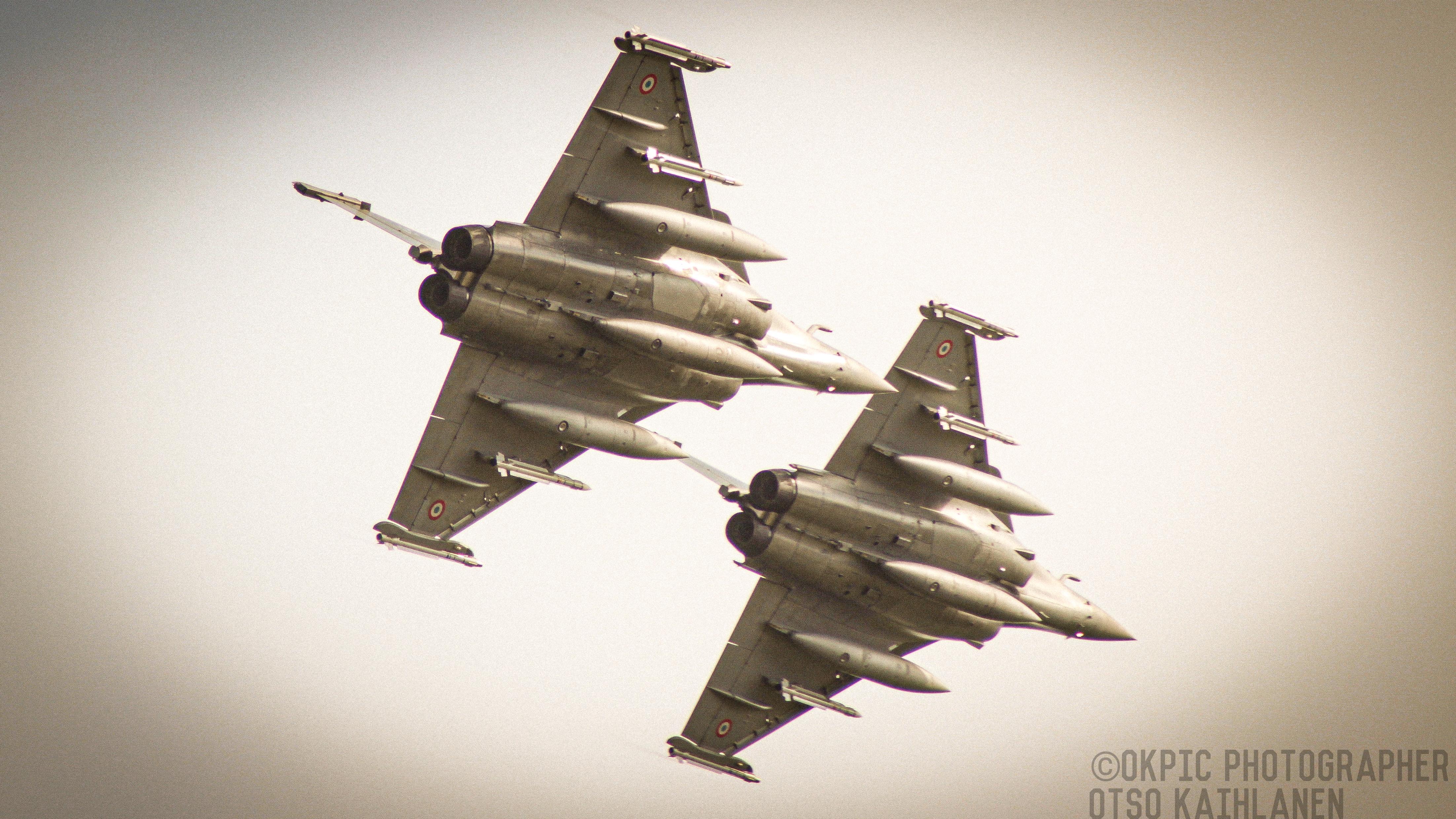 Ranskan Ilmavoimien Dassault RafaleDynamic Duo