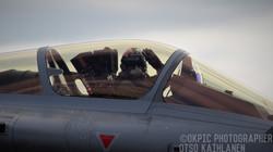 Ranskan Ilmavoimien Dassault Rafalen pilotti