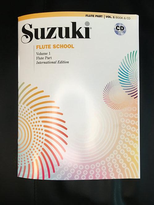 Suzuki Flute School Volume 1 with CD