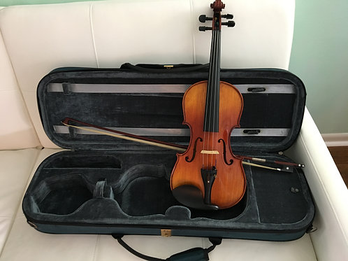 """Fenugreek"" full size 4/4 violin by Vanesse"