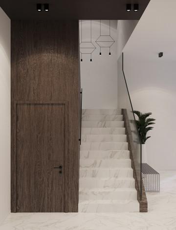 Veldstraat project hallway