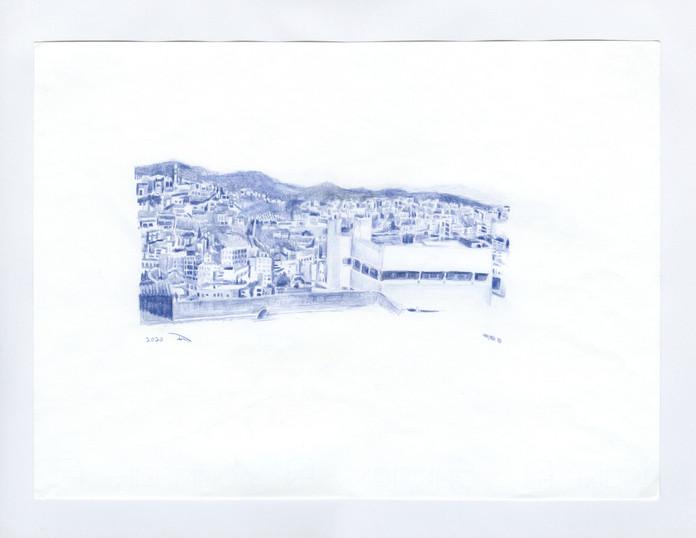 Untitled (Um El Fahem View 1)