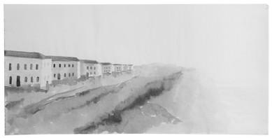 new housing in Beer Sheva, 1950