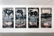 Untitled (Cow#8186, Cow#8346, Cow#7804, Cow#0), exhibition view