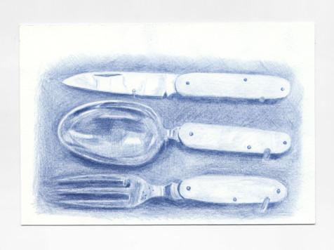 Untitled (Field Cutlery)