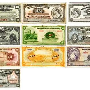 Billetes del período 1912 a 1940