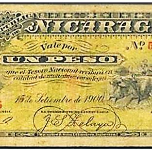 Billete de 1 peso