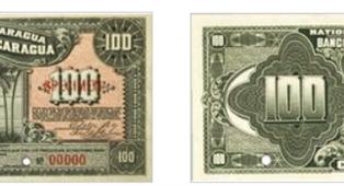 La conversión monetaria: Billete de 100 córdobas