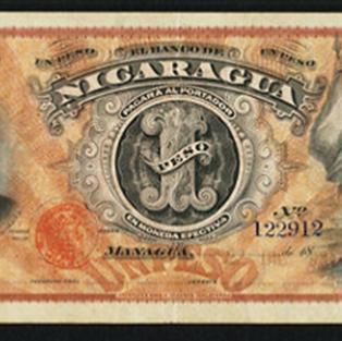 Billete de 1 peso 1889 a 1893 anverso