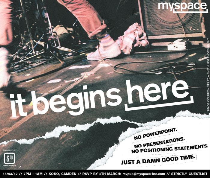 myspace invite, specific media, white label uk, layla smethurst