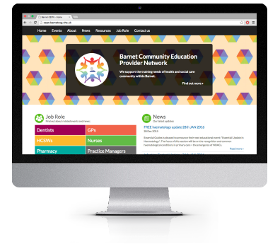 Barnet Primary Care Training Hub Website
