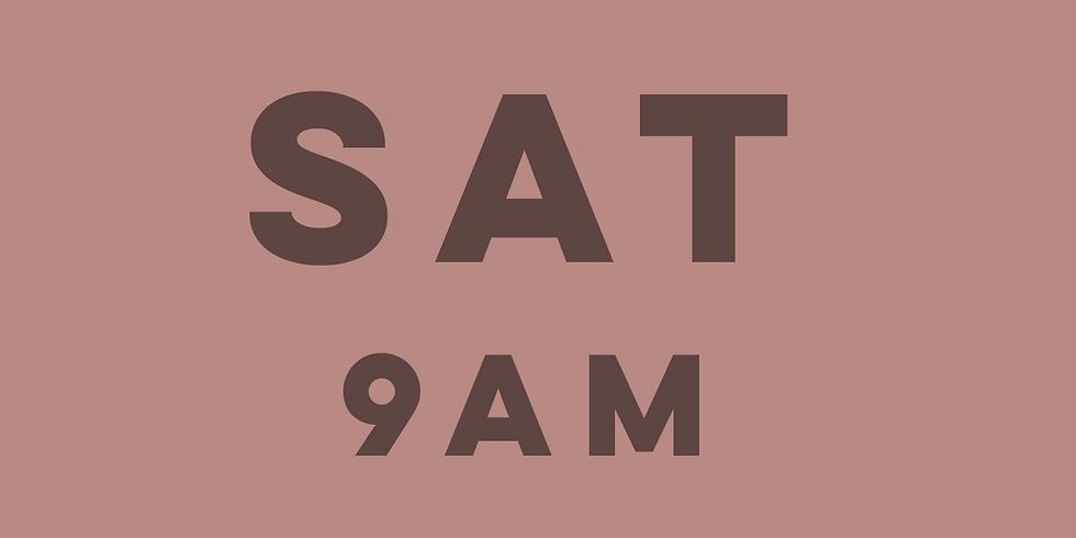 9am Mass Saturday 13th March 2021
