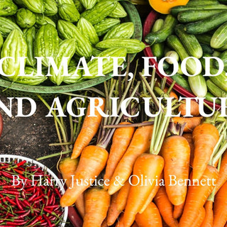 Climate, Food, and Agriculture