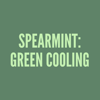 Spearmint: Green Cooling