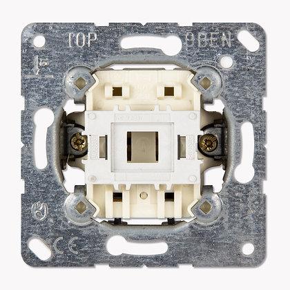 Кнопка 10AX, 250V однополюсная с НО контактом