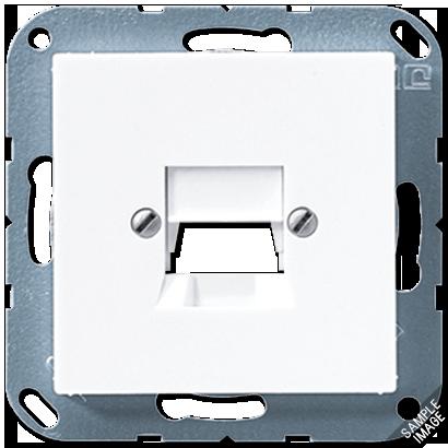 Крышка для модульного гнезда AMP/KAT5 (белый)