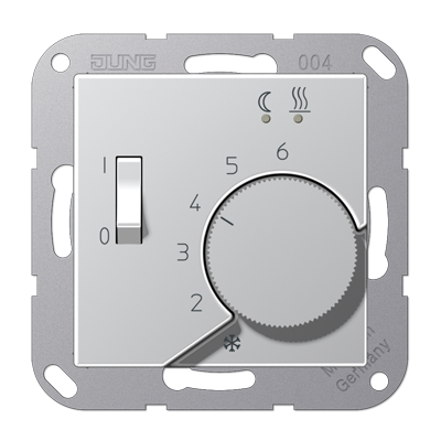 Крышка для регулятора температуры воздуха помещений (алюминий)