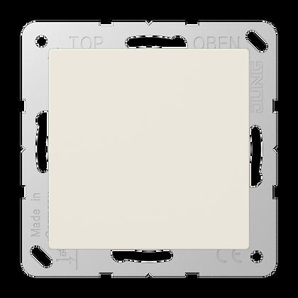 Заглушка с опорной пластиной (слоновая кость)