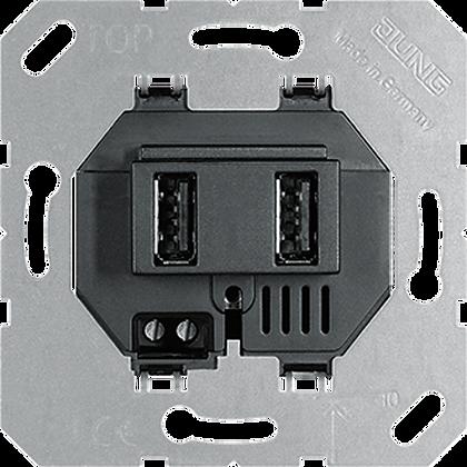 для 2-х USB портов тип А (крепление винтами, без крепёжных лапок)