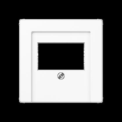 Крышка для аудиорозеток/USB розеток (белый)