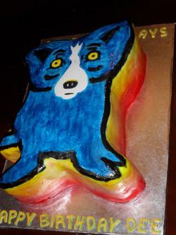 BLUE DOG SIDE SHOT