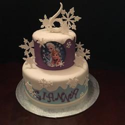 2017-07 FROZEN BIRTHDAY CAKE