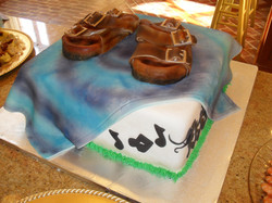 Birkenstock jazz fest cake