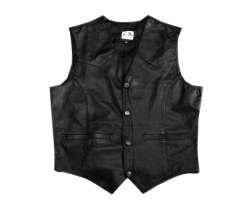 Soft Leather Waistcoat SLW001