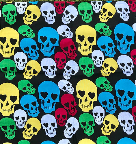 Skull Bandana Neckerchief