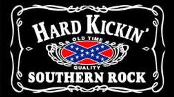 Hard Kickin' Southern Rock Flag